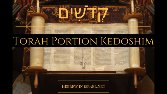 BE HOLY FOR I AM HOLY, KEDOSHIM, LEVITICUS 19, LOVE THY NEIGHBOUR, LOVE YOUR NEIGHBOR AS YOURSELF, TORAH PORTION