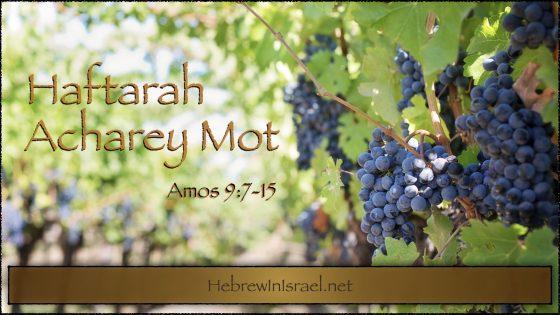 Haftarah Acharey Mot, Acharei Mot, Amos 9